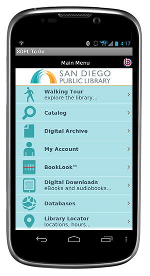 SDPL mobile phone app