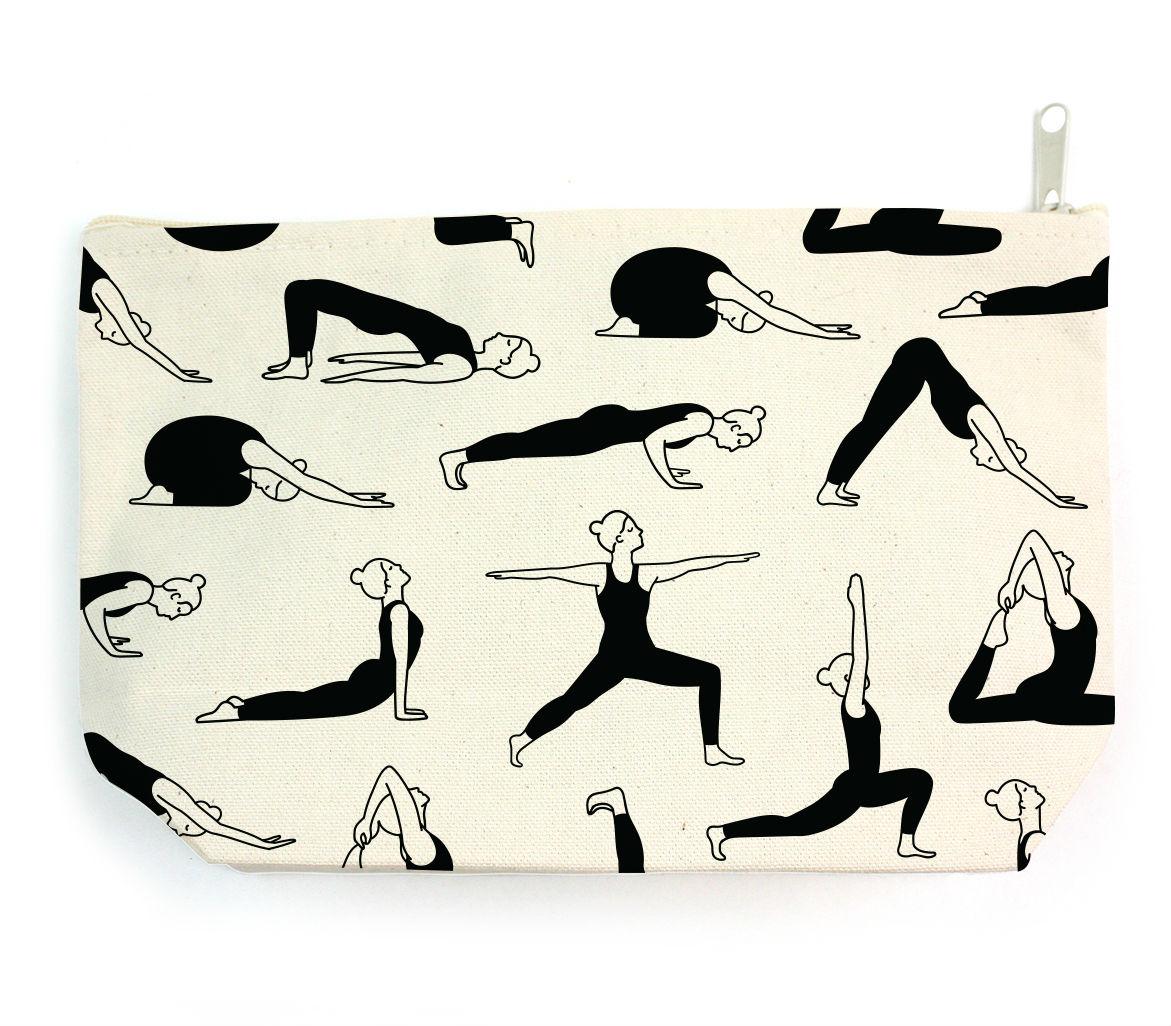 Yoga Print Pouch